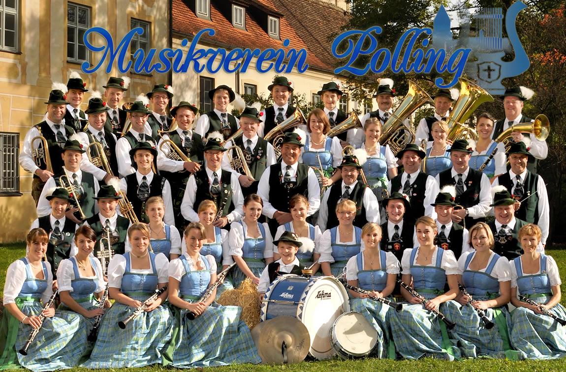 Musikverein Polling Gruppenbild 2012